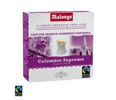 Malongo 123Spresso kávové pody Colombie Supremo Fair Trade 16 dávok